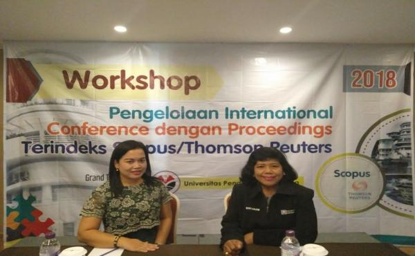 Pusat Pengelolaan Jurnal (PPJ) Universitas Warmadewa mengikuti Workshop Pengelolaan International C