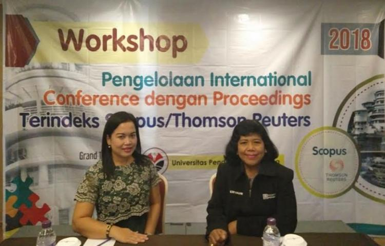 Pusat Pengelolaan Jurnal Universitas Warmadewa mengikuti Workshop Pengelolaan International Conference dengan Proceedings Terindeka Scopus/Thomson Peuters
